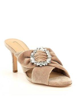 Landin Velvet Dress Sandals by Antonio Melani
