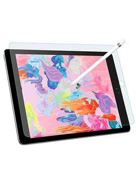 Mo Ko Paper Like Screen Protector For I Pad 9.7 2018 / I Pad Pro 9.7 2016, Write, Draw And Sketch With The Apple Pencil Like On Paper Roughness Of Paper For I Pad 9.7 2018 / I Pad Pro 9.7 2016   Clear by Mo Ko