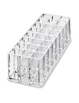 By Alegory Acrylic Makeup Tool Organizer | 24 Space Storage For All Cosmetuc Beauty Tools by By Alegory