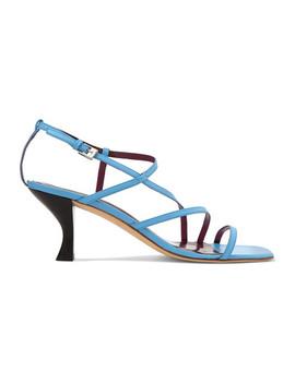 Gita Leather Sandals by Staud