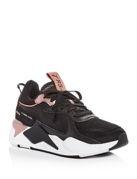 Women's Rs X Trophy Low Top Sneakers by Puma