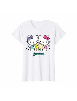 Hello Kitty Zodiac Gemini Tee Shirt by Hello Kitty