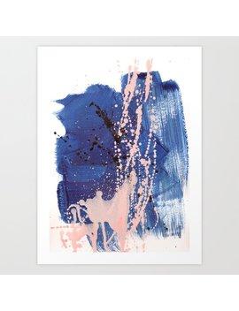 Brush Strokes 3 Art Print by Society6