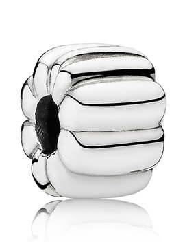Ribbed Clip Charm by Pandora