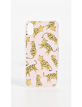 Pink Tiger I Phone X / Xs Case by Skinnydip