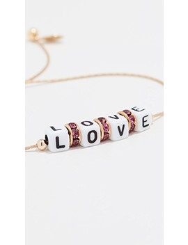 It's Love Bracelet by Shashi