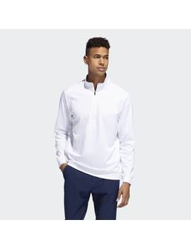 Classic Club 1/4 Zip Sweatshirt by Adidas