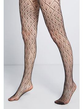 Dash Of Deco Tights by Modcloth