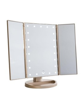 Touch 3.0 Trifold Dimmable Led Makeup Mirror by Impressions Vanity