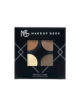 Makeup Geek Eyeshadow Palette Naturally Nude   4ct by 4ct