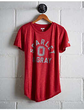 Tailgate Women's Ohio State Scarlet &Amp; Gray T Shirt by American Eagle Outfitters