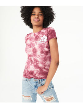 Flower Tie Dye Graphic Tee by Aeropostale