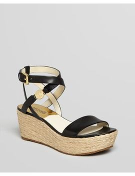 Open Toe Platform Espadrille Wedge Sandals   Jalita Charm by Michael Michael Kors
