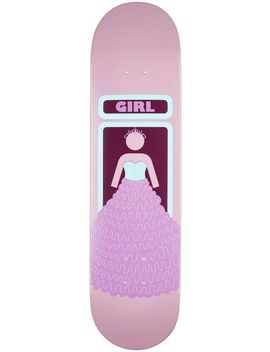 Girl X Skate Warehouse Quinceanera Skateboard Deck 8.0 X 31.5 by Girl