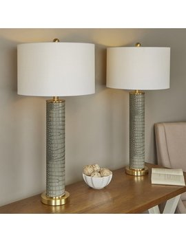 "Moira Modern 32.5"" Table Lamp by Wayfair"