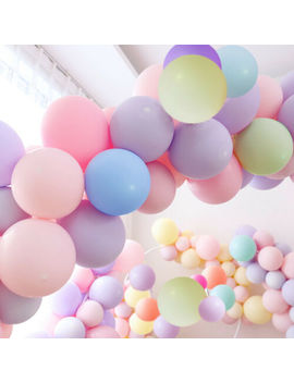 "Big 60cm/24"" Balloons 5 Pastel/Macaron Colors  Birthday Wedding Party Melb Seller by Unbranded"