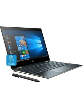 "Spectre X360 2 In 1 13.3"" Uhd Touch Screen Laptop   Intel Core I7   16 Gb Memory   512 Gb Solid State Drive   Poseidon Blue by Hp"
