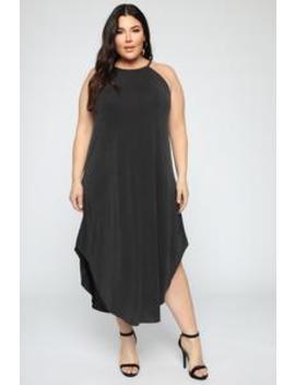 Something You Gon' Need Dress   Black by Fashion Nova