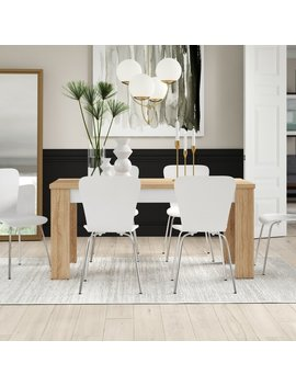 Algedi 7 Piece Dining Set by Wayfair