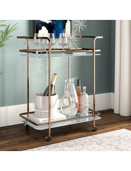 Laoise Bar Cart by Wayfair
