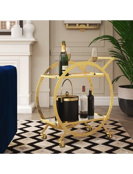 Tryphosa Bar Cart by Wayfair
