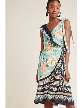 Farm Rio Monica Wrap Dress by Farm Rio For Anthropologie