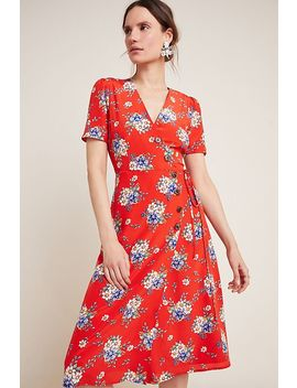 Yumi Kim Fiona Silk Wrap Dress by Yumi Kim