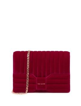 Rosalaa Velvet Bow Crossbody Bag by Ted Baker London