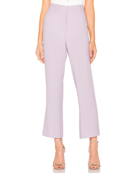 Textured Crepe Mini Kick Flare Pant by 1. State