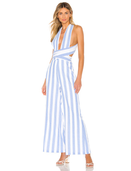 Kia Striped Jumpsuit by Superdown