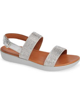 Barra Crystal Embellished Sandal by Fitflop