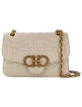 Gancini Quilted Shoulder Bag by Salvatore Ferragamo