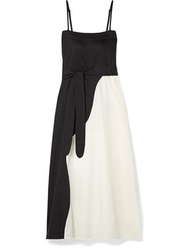 Philomena Two Tone Organic Cotton Voile Maxi Dress by Mara Hoffman