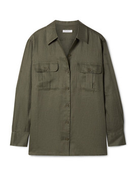 Videlle Linen Shirt by Equipment