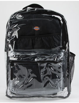 Dickies Clear Pvc Black Backpack by Tilly's