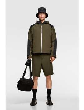 Technical Hooded Jacket  New Inman by Zara