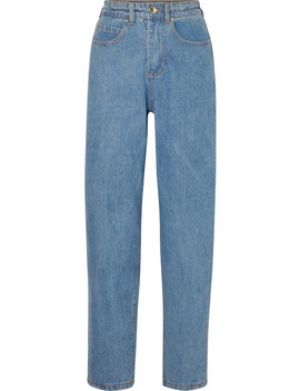Johnny High Rise Tapered Jeans by L.F.Markey