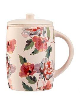 Poppy Floral Tea Mug by Indigo