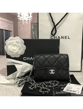 Chanel Classic Clutch With Chain Caviar Shw by Chanel