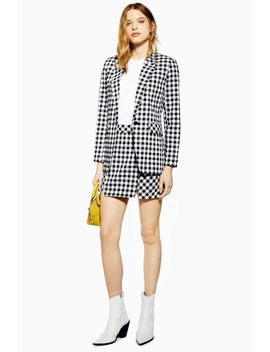 Gingham Skirt by Topshop