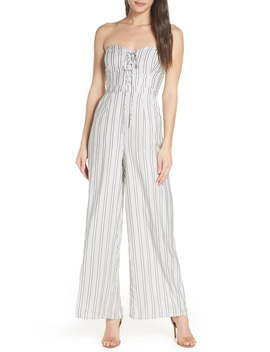 X Dress Up Buttercup Game Day Strapless Jumpsuit by Ali & Jay