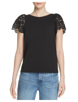 Sawyer Lace Sleeve Top by Generation Love