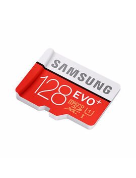 S Evo+ 80 Mb/S Tf Flash Micro Sd Memory Card 32 G 64 G 128 G C10 Uhs I With Adapter by Samsung