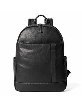 Sharkborough Signature Ávila Madrid Men's Backpack Genuine Leather For Casual Daypacks, Travel, Business, School by Sharkborough