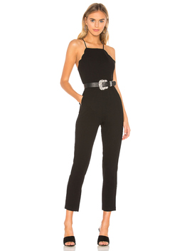 Scalloped Ankle Jumpsuit by Bcb Generation