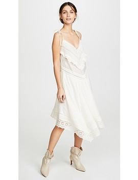 Ruffle And Lace Dress by Zadig & Voltaire