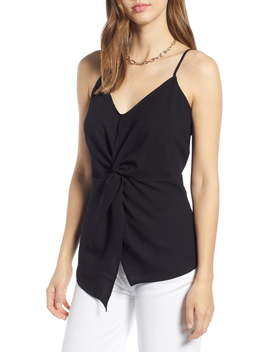 Twist Front Crepe Camisole by Halogen®