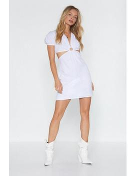 Circle In Cut Out Mini Dress by Nasty Gal