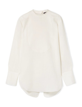 Oversized Linen Blouse by Theory