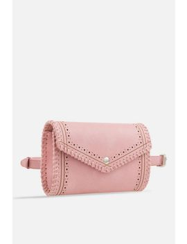 **Envelope Faux Leather Bumbag By Koko Coture by Topshop
